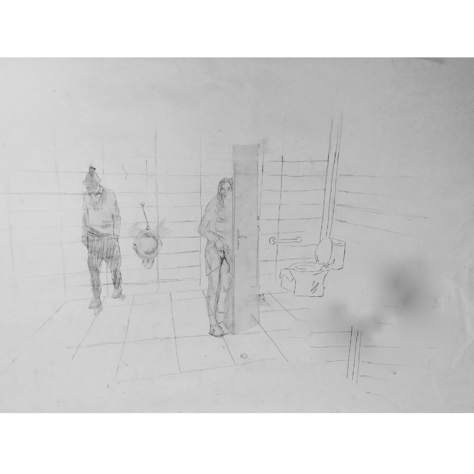 Martin Mas, Artist. Drawing 201