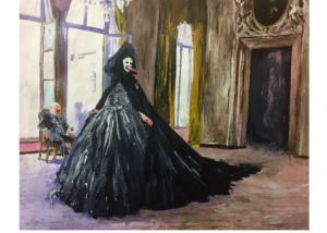 Martin Mas Artist, The catwalk, Painting, Art